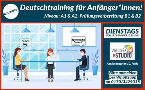Welcome In! Deutschtraining